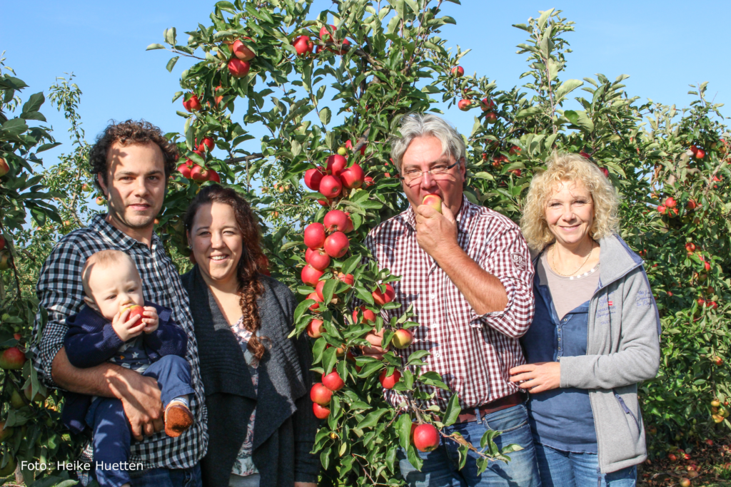 Äpfel und Birnen aus eigenem Anbau